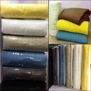 Plain Dyed Quilts Sets Stock