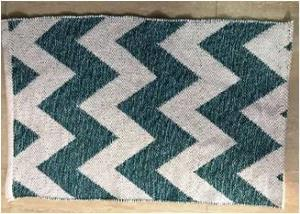100% Cotton Woven rugs Stock