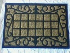 coir with rubber mat