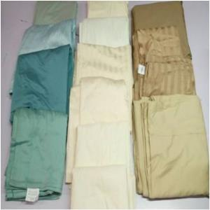 100% COTTON MILLMADE  FLAT SHEET STOCK- Cotton Satin Fabric