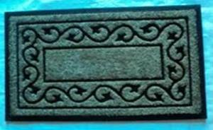 Coir Brush rubber mat