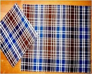 Fused Placemat and napkin set stock