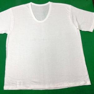 Half Sleeve U Neck Tshirt Stock