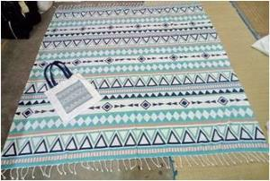Printed table Cover  with Printed bag Stock