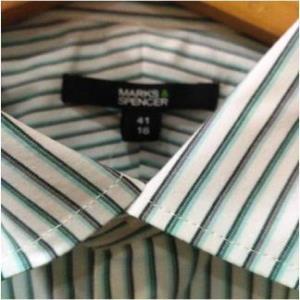 Marks & Spencers ( M&S) Men's full sleeves shirt. Stock