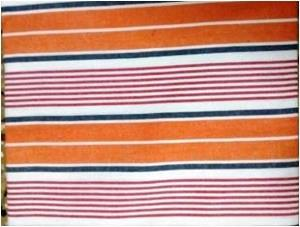Yarn Dyed Stripes Bed Cover Stock