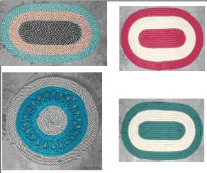 POLYPROPYLENE YARN BRAIDED RUGS