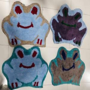 Designer Shaped Bathmats Stock