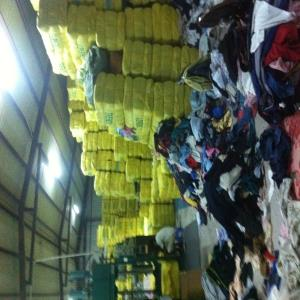 Supply used clothes from Hong Kong