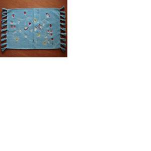 Cotton Canvas Hobo Bag