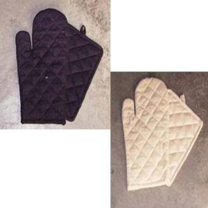 Oven Mitten with pot holder set
