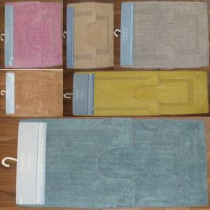 2 pc bathmat Set Stock
