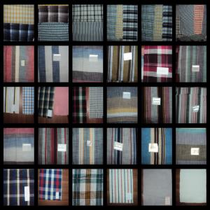 Gas Mercerized Shirting Fabric Stock