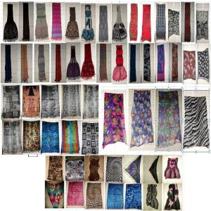 50,000 pcs of Woolen Shawls in assorted designs