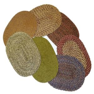 Jute Braided Oval Rugs