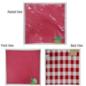 Reversible Fused Placemat with Chambrey