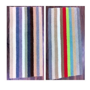 Multi Stripe Reversible bathmats