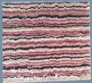 PVC Coir Bleached Printed Mat