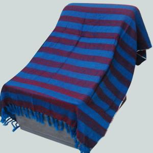 100% Woven  Acrylic Throw