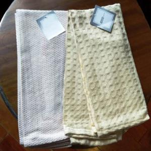Heavy Quality Dobbie & Jacquard  Kitchen Towels 2 pcs set