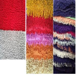UV clear Chenille Shaggy Bathmats