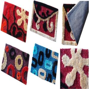 POLY SHAGGY TUFTED MATS