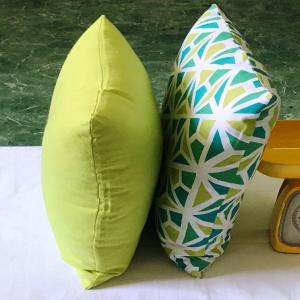 Blow fill Compressed Cushion Cover with Poly Filling