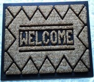 Moulded Coir Brush Rubber Mat