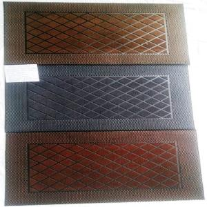 Heavy Weight Fancy Color Rubber Pin Mat
