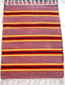 Heavy Salem Tie & Die Rugs