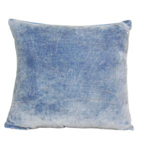VELVET STONE WASHED CUSHION COVER 45X45 CM