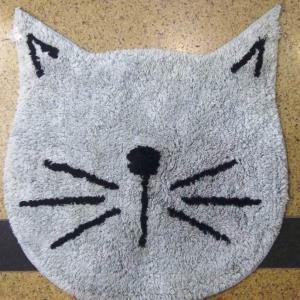 Cat Shape bathmat