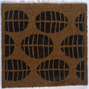 Latex Backed Tufted Printed Coir Mat