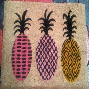 PVC printed coir mat