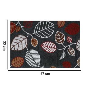 MyMadison Home Tropical Teal Leaves Placemats