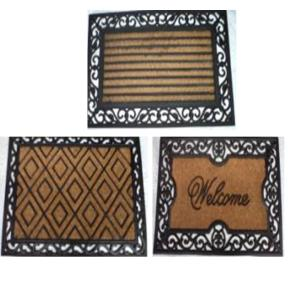 Rubber moulded Coir BC1 grill mat stock