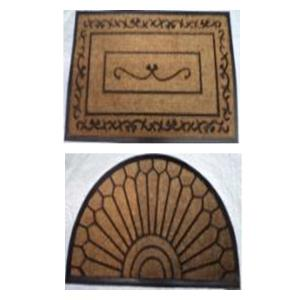 Rubber moulded coir BC1 brush mat stock.