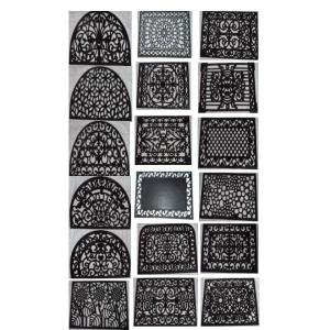 Rubber cast iron Mats stock