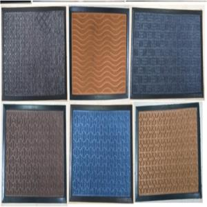 RUBBER BACKED POLY PROPLINE MAT - Assorted