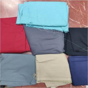 100% Cotton Solid Dyed Curtains with Rings & Tabs