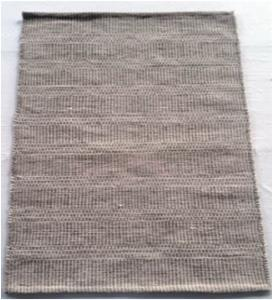 Hand Woven Cotton Wool Rug