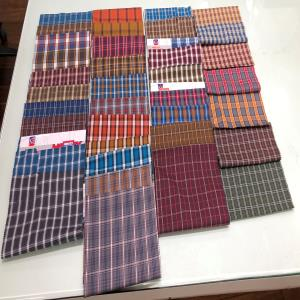 100% Mercerised COTTON CHECKS FOR MENWEAR & KIDSWEAR