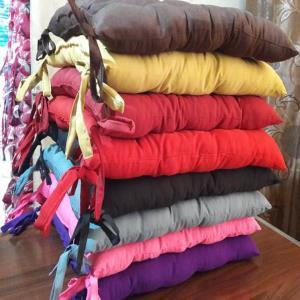 Polyester velvet  chairpads – 9 & 16 tucks