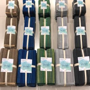 Organized Yarn Dyed Terry Towel Set Stock