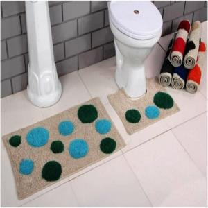 2 Pc Set Bath mat