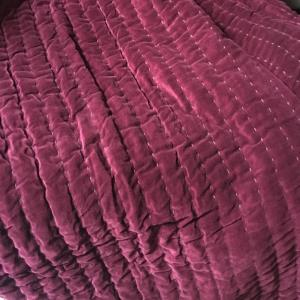 Cotton Velvet Throws