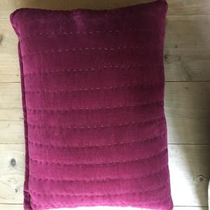 Cotton Velvet hand quilted cushion covers