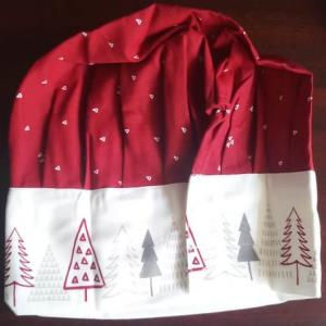 Christmas Kids Apron and Velcro Cap