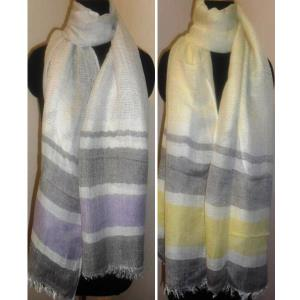 Linen-Viscose scarf stock