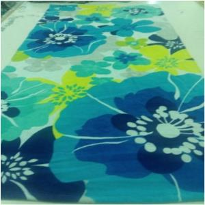 Printed Velour Bath Towels